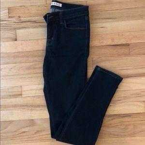 J Brand Super Skinny Jeans in Starless